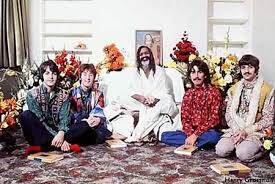 beatles with maharishi